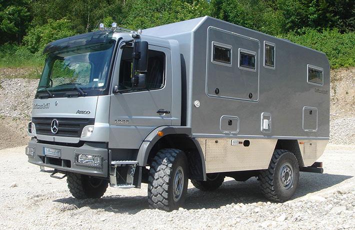 Bimobil ex 480 bimobil von liebe gmbh for Mercedes benz ml 350 for sale