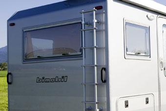 Caravan cabin design | bimobil von Liebe GmbH